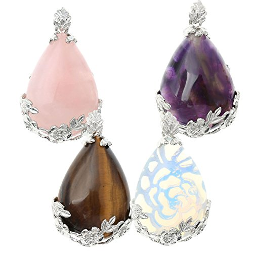 Top Plaza Waterdrop Pendants Necklace