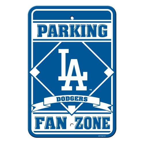 MLB Los Angeles Dodgers 12 x 18-Inch Parking Sign