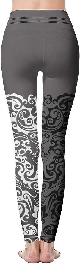 QQMIMIG Printed Leggings Big Moon Leggings Workout Leggings Women Girls