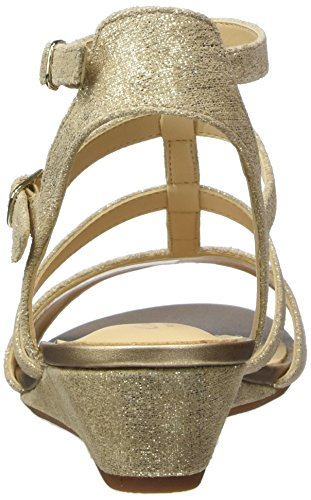Spartiates Parram Suede Clarks gold Or Spice Femme zCnwEqA