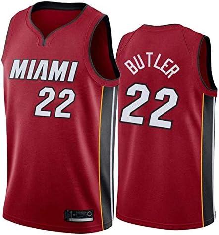 RTVZ Hombres Sra. NBA 22# Butler Jerseys Camisa De Baloncesto Leotardos De Malla Transpirable Uniforme De Baloncesto Bordado Tops Traje De Baloncesto: Amazon.es: Deportes y aire libre