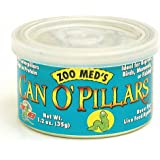 Zoo Med Can O' Pillars Repltile Food,1.2-Ounce