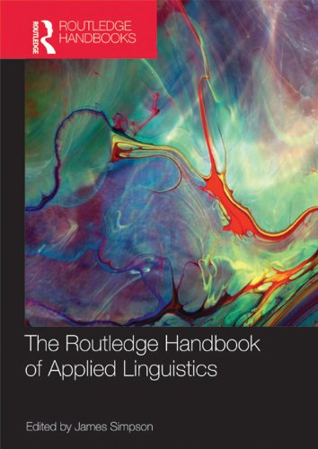 The Routledge Handbook of Applied Linguistics (Routledge Handbooks in Applied Linguistics) Pdf