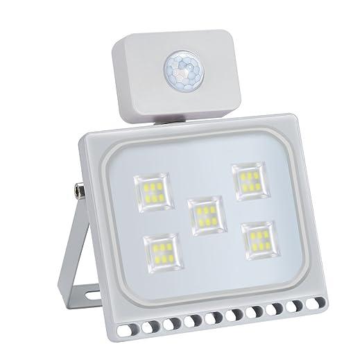 30W Foco led exterior con Sensor Movimiento de alto brillo 3000lm ...