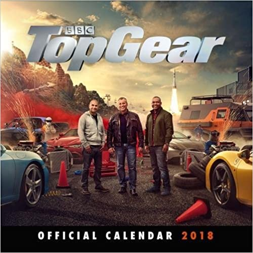 Top Gear Official 2018 Calendar Square Wall Format