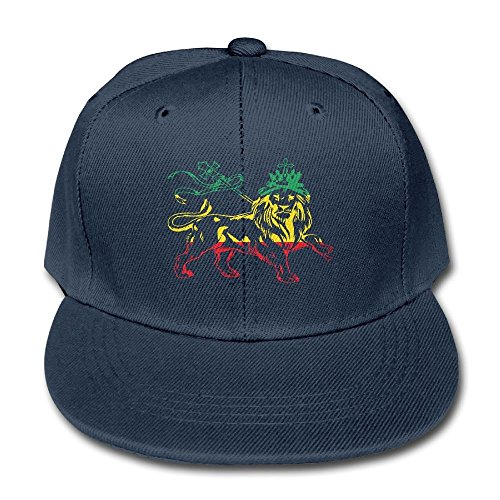 Dry Rasta Lion Cotton Baseball Cap Adjustable Peaked Hat ()