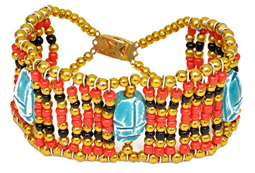 Ancient Egyptian queen Cleopatra bracelet costume - Elizabeth Taylor Cleopatra Halloween Costume