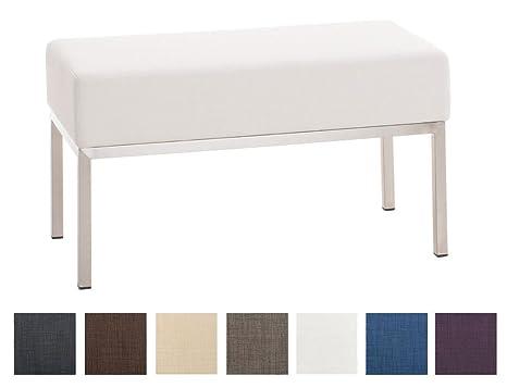Panca Imbottita Design : Clp panca posti imbottita lamega panchina design in tessuto ca