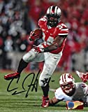 Carlos Hyde Autographed Ohio State Buckeyes 8x10 Photograph - Certified Authentic - Autographed Photos