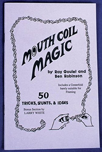 Costumes For All Occasions RA78 Mouth Coil Magic (Special Effects Scars)