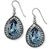 Brighton Raindrops Teardrop Sapphire Blue Crystal Earrings
