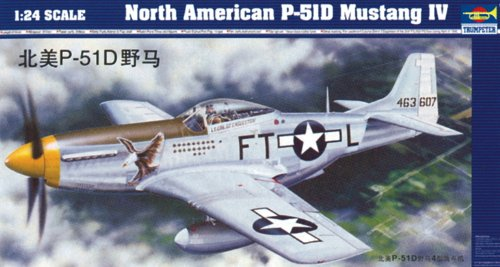 Trumpeter 02401 Modellbausatz North American P-51 D Mustang IV