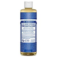 Dr. Bronner's, Liquid Soap, Peppermint Hemp, 16 oz