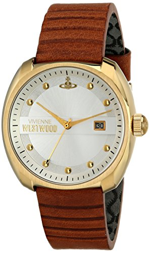 Vivienne Westwood Men's VV080SLTN Bermondsey Analog Display Swiss Quartz Brown Watch