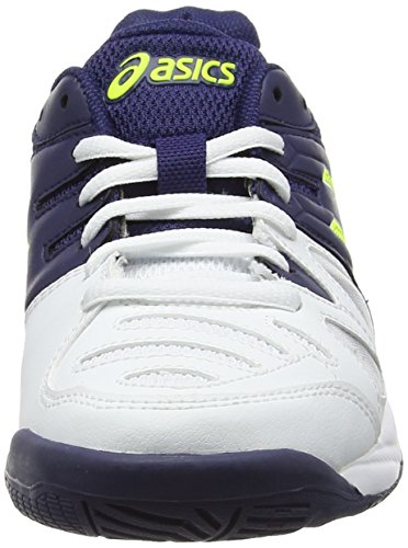 De Gs game Yellow Blanco Zapatillas indigo Unisex white Asics Bebé Blue safety Tenis 5 Gel wXqxUF