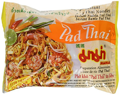Mama Pad Thai Instant Noodles 30 Pcks Thailand
