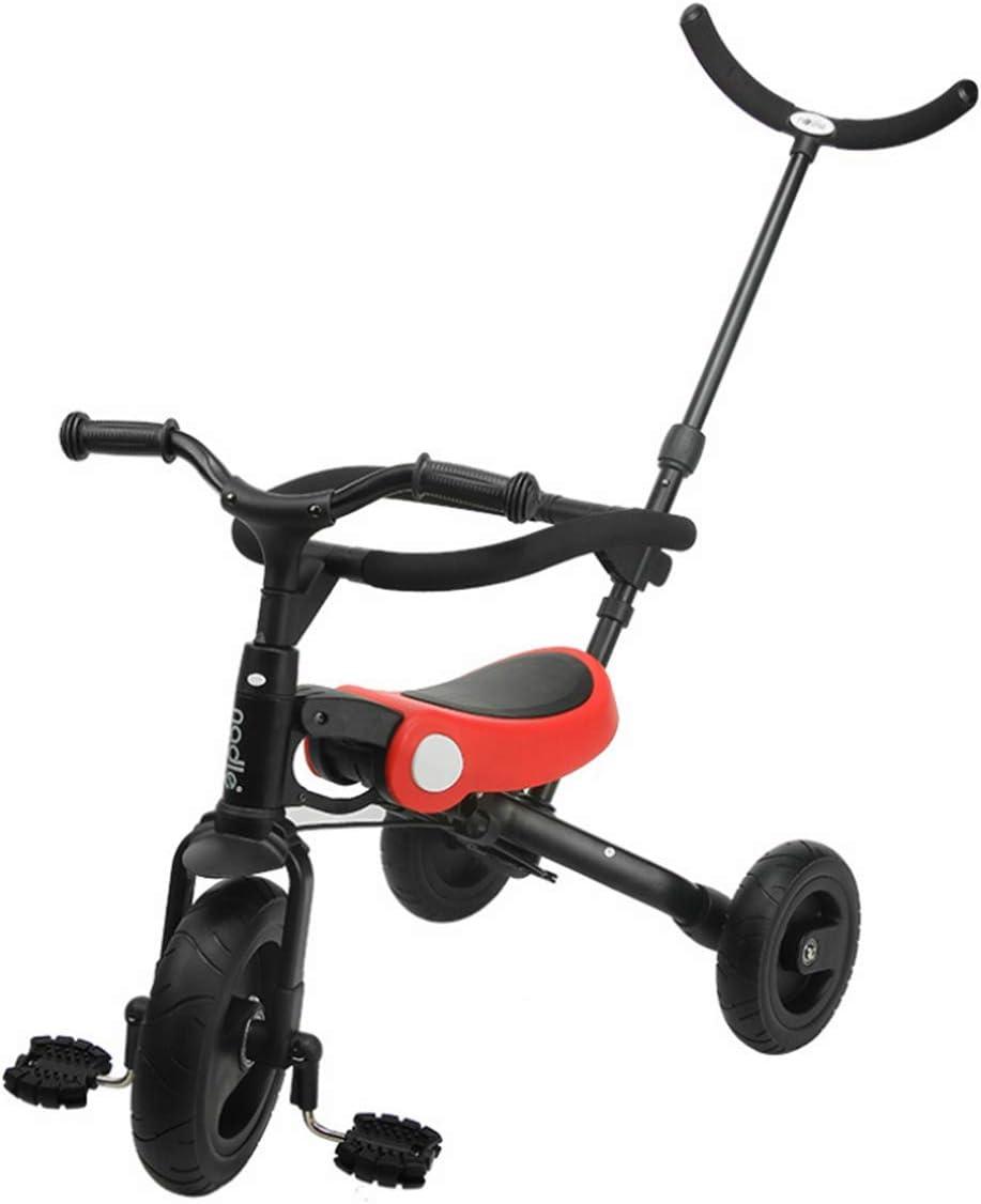 ADDG Bicicleta de Triciclo Infantil para bebé, para Exterior, para 2-6 años.