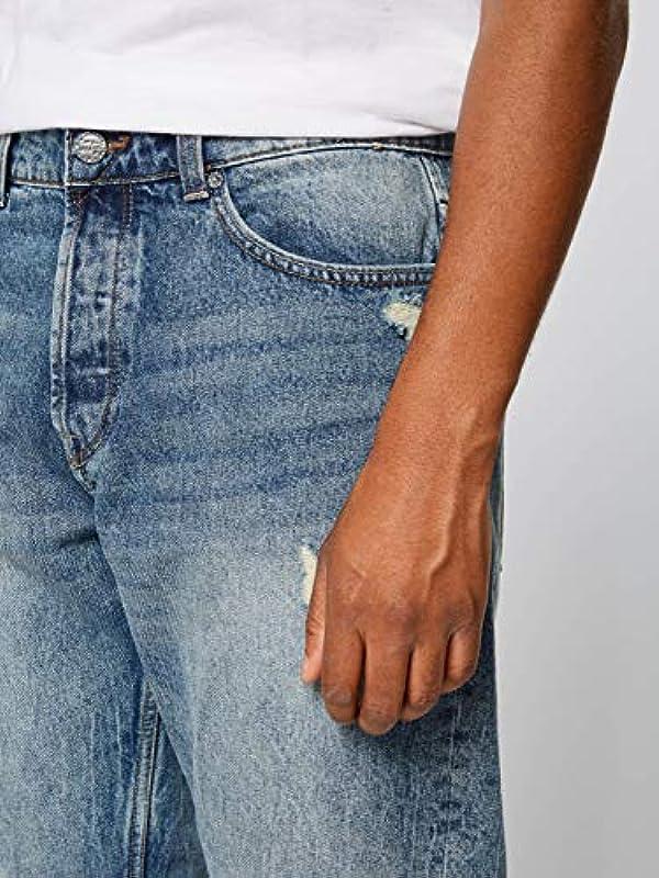 Only & Sons dżinsy męskie onsAVI Blue Washed PK 3672 UTD, kolor: Blue Denim , rozmiar: 33: Odzież