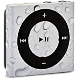 Waterfi Waterproof Apple iPod Shuffle - Best Swimming MP3 Player (New Model) (Silver)