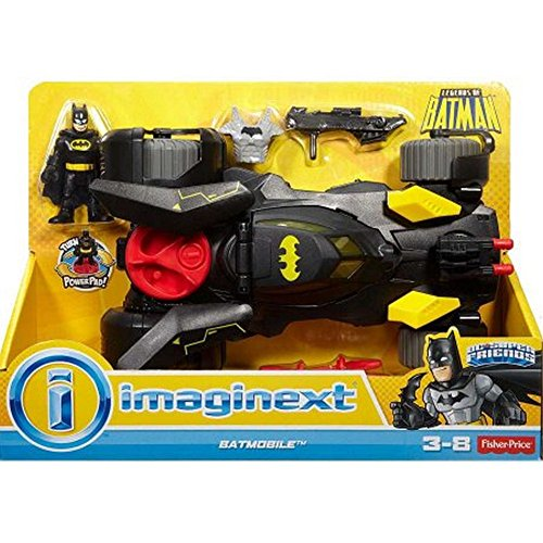 Imaginext DC Super Friends Legends of Batman Deluxe (Imaginext Batmobile)