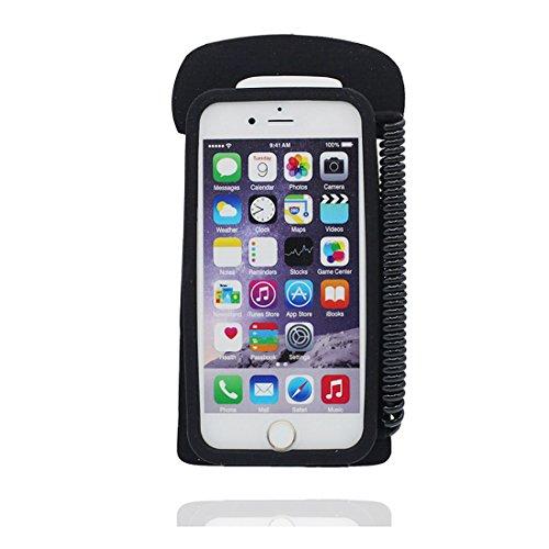 """Coque iPhone 6 Plus (5.5""""), iPhone 6S Plus Étui (5.5""""), [ TPU Flexible 3D téléphone ] iPhone 6 Plus Case, Dust Slip Scratch Resistant & Bouchon anti-poussière"""