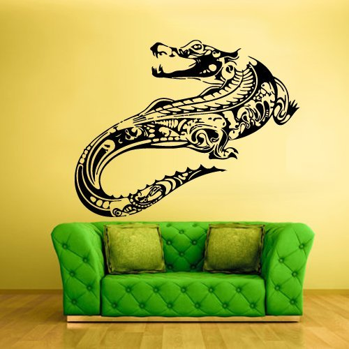 Amazon.com: crocodile wall decals crocodile wall art crocodile wall ...