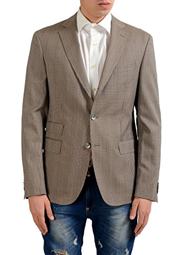 Hugo Boss Ruven Men's Wool Three Button Blazer Sport Coat US 40 IT 50