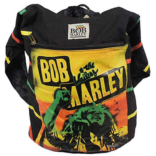 Bob Marley Rasta Stripe Womens Shoulder