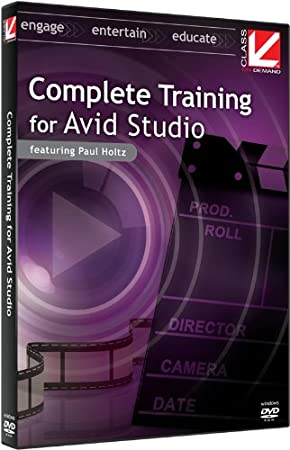 Class on Demand Complete Training for Avid Studio Educational Training  Tutorial DVD-ROM with Paul Holtz 99908