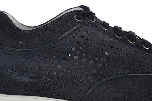 Hogan Zapatos Zapatillas de Deporte Mujer EN Ante Nuevo Interactive Blu