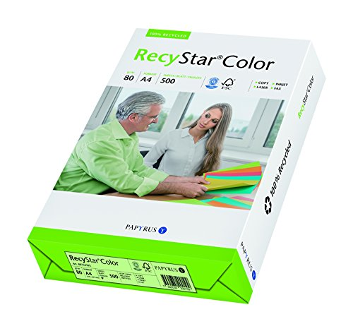 Papyrus Color recystar Available in 10 Great Colours Made from 100% Recycled Paper