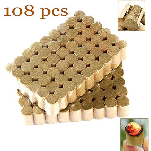 108pcs Moxa Cone sticks for moxibustion (108 packs) for Traditional Chinese Medicine Copper Moxibustion Box Acupuncture Heating Massage by Homemelinda