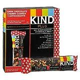 KIND Plus Nutrition Bars, Dark Chocolate Cherry Cashew + Antioxidants 1.4 oz (Pack of 2)