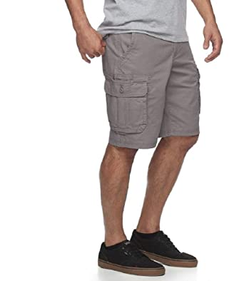 bd129d3ae4 Urban Pipeline Men's Maxflex Cargo Shorts (Alloy, 29) | Amazon.com