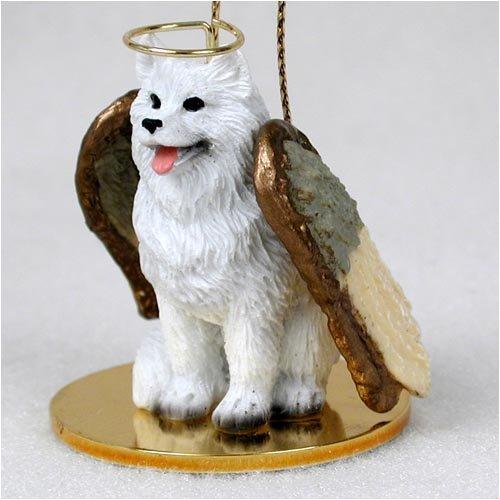 Conversation Concepts Samoyed Pet Angel Ornament