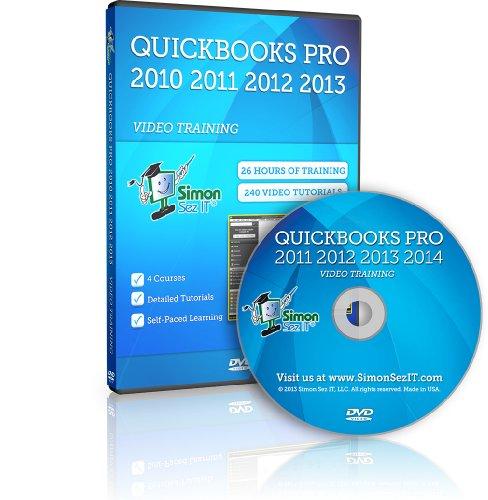 Learn QuickBooks Pro 2011, 2012, 2013 and 2014 Training Video Tutorials