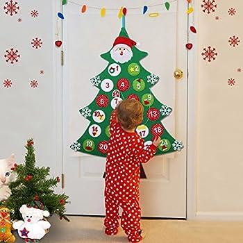 Amazon Com Melissa Amp Doug Countdown To Christmas Wooden