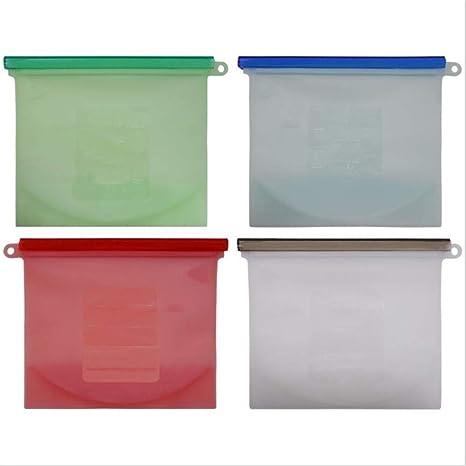 Bolsas de almacenamiento de alimentos reutilizables (paquete ...