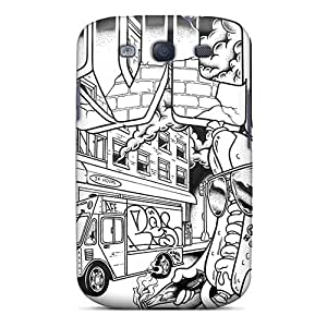 Durable Rvca Back Case/cover For Galaxy S3