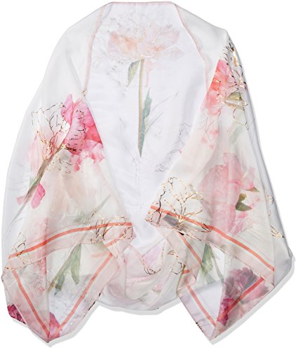 Ted Baker London Women's Sketchbook Cape Scarf, Ecru, One Size by Ted Baker