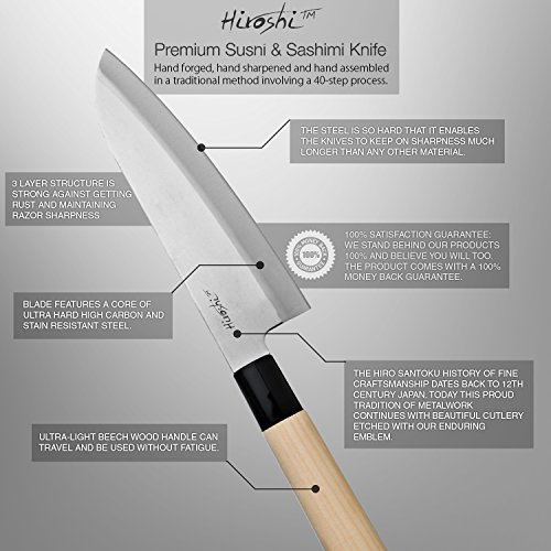 Hiroshi Knives 6 5 Quot Sushi Knife Buy Online In Uae