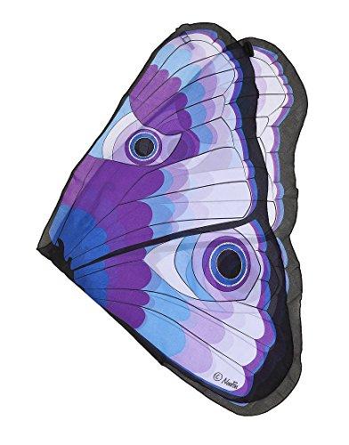 Douglas Butterfly Wings w/Glitter Eyes, Purple