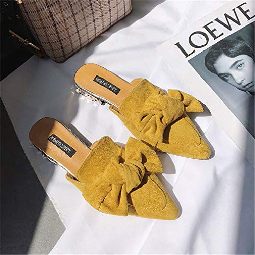 Femme YUCH Chaussure Chaussure YUCH Yellow Slippers fFHrfnqwx
