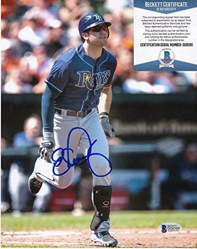 Autographed Longoria Photograph - 8x10 - Autographed MLB Photos