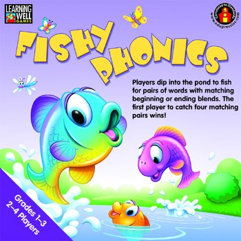 EP-LRN271 - FISHY PHONICS BEGINNING AND (Phonics Beginning Blends)