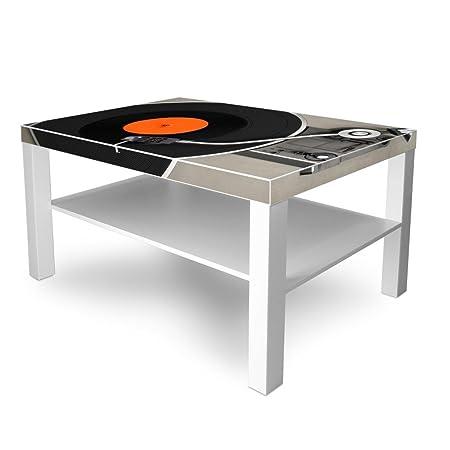 banjado - Mesa de diseño Salón (90 x 45 x auxiliar mesa blanco ...
