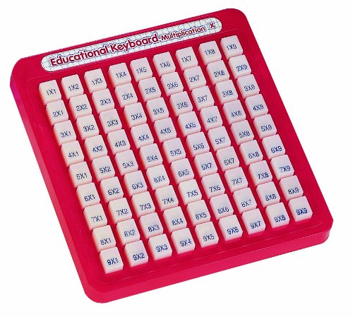 Educational Keyboard (Small World Toys Preschool - They Keep Multiplying Math Keyboard)