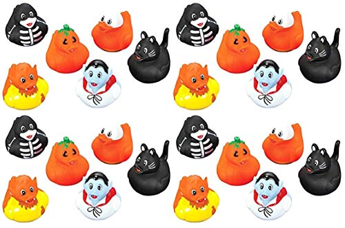 happy deals 24 Halloween Rubber Ducks (Duck Halloween Rubber)