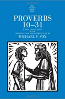 Proverbs 1-9 (The Anchor Yale Bible Commentaries): Michael V