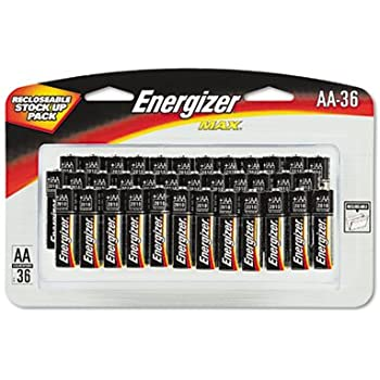 Amazon.com: EVEE91SBP36H - Energizer MAX Alkaline